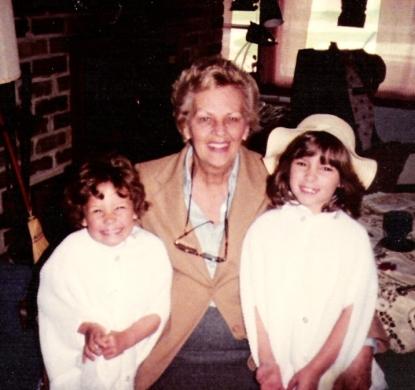 Me, Grandma Libby, my sister